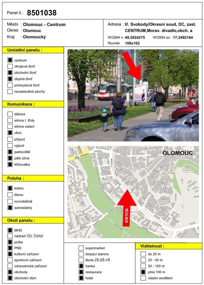 Cityboard, Olomouc, tř. Svobody (hotel)