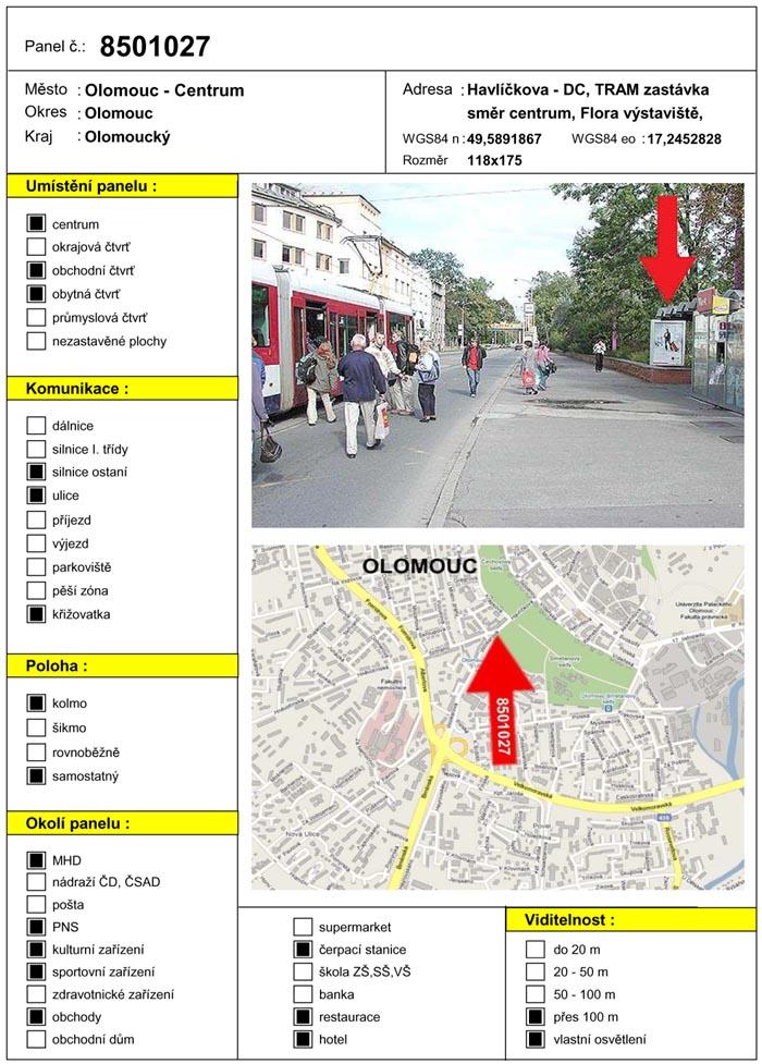 Citylight, Olomouc, Havlíčkova