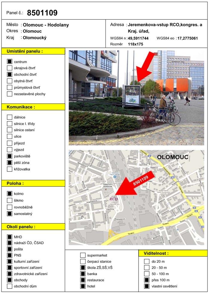 Citylight, Olomouc, Jeremenkova