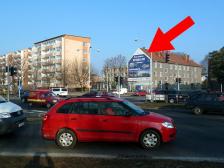 Štít, Olomouc, Velkomoravská/Rooseveltova