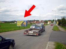 Billboard, Prostějov, Držovice, Olomoucká
