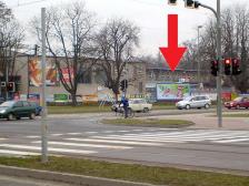 Billboard, Olomouc, 17. listopadu / tř. Kosmonautů