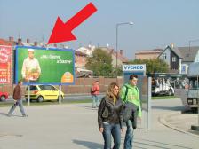 Billboard, Olomouc, autobusové nádraží