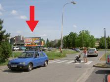 Billboard, Olomouc, Dobnerova