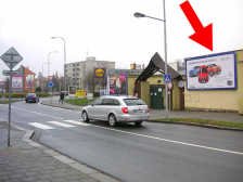Billboard, Olomouc, Lazecká