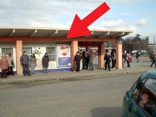 Citylight, Olomouc, tř. Svobody, autobusové nádraží